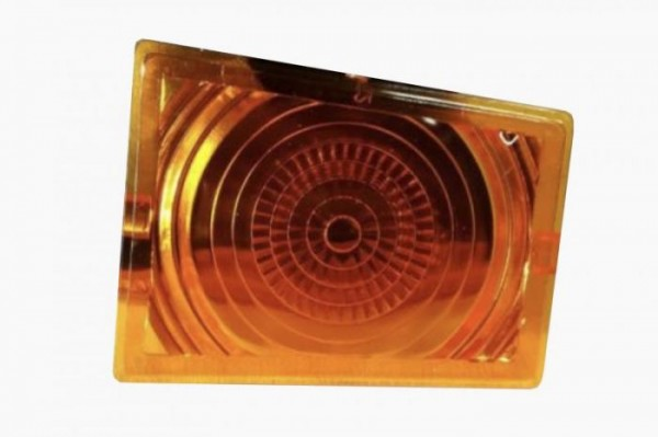 Lens for top light OLSCHOOL orange