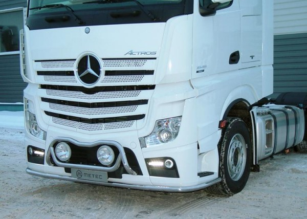 Metec Onderbeugel Mercedes Actros MP4 Big en Gigaspace, 2500 mm