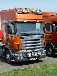 METEC Roof Light Bar Scania R Topline