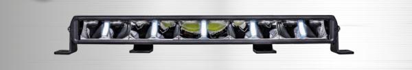 Arcum LED bar curved 220w + Positielicht