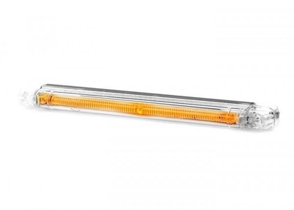 Led buis/positielamp helder ORANJE 12-24v LxBxH 237x20,5x22,3mm