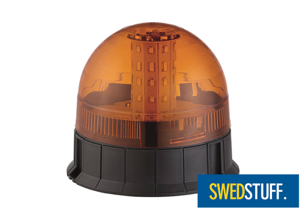 LED flashing light 3-point mounting