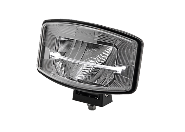 Rectangular / Oval FULL LED spotlight silver reflector