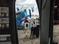 DAF mirrors with LED turn signal
