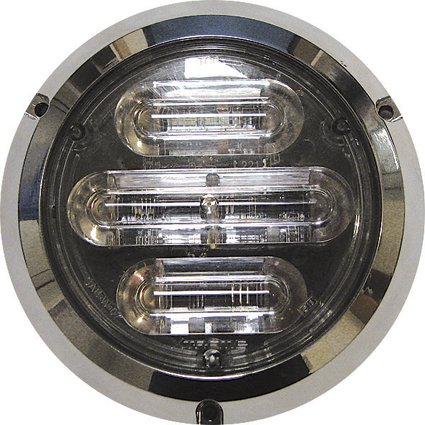 7 orange flash led's 12-24v