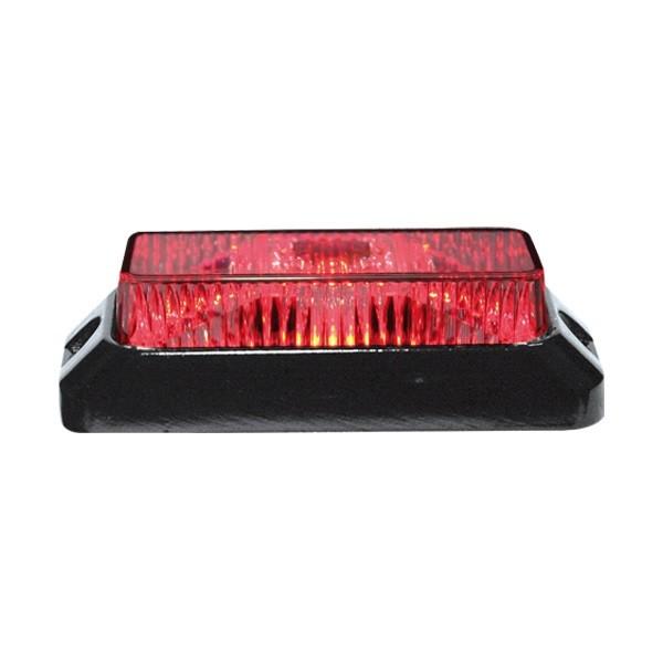 3x3W flash red LED 12-24v