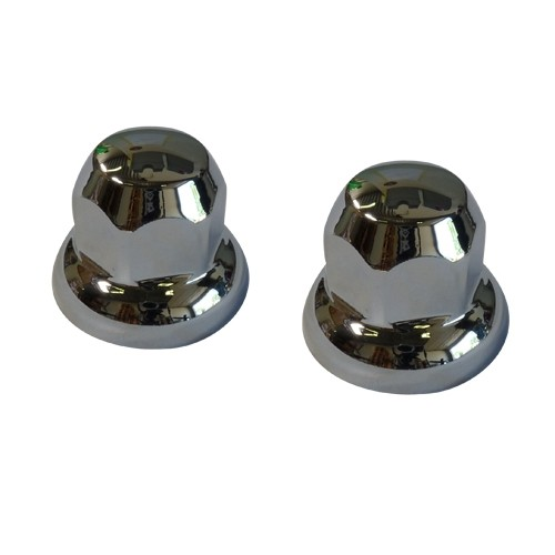 Wheel nut caps 33MM set of 20 pieces, steel and aluminum wheels (plastic)