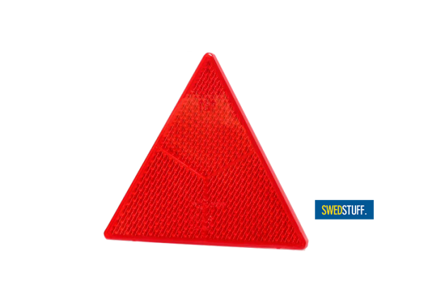 Red reflector triangle swestuff