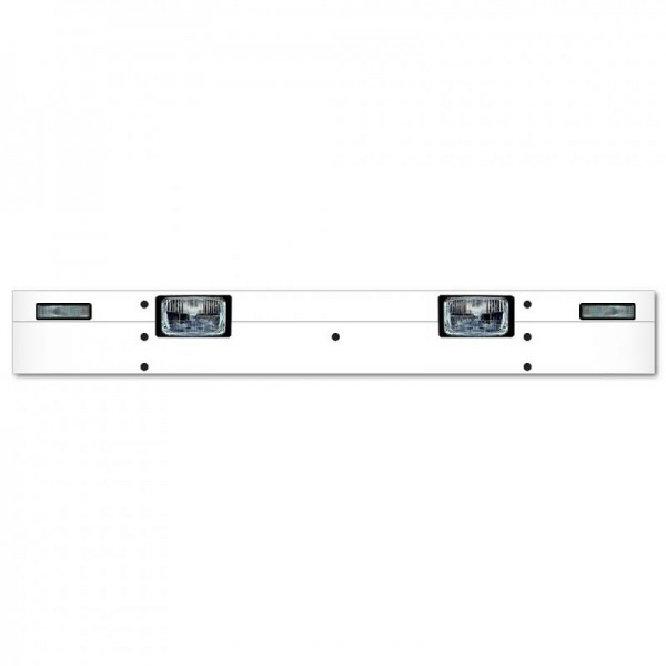 Sun visor type 1-B for Scania 4-series with Highline cabin