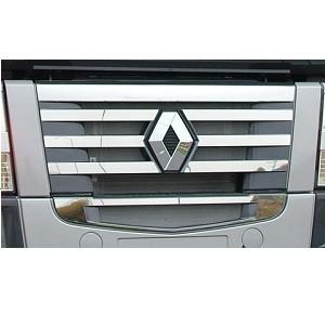 RVS applicatie voor grille met Renault logo
