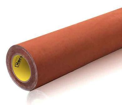 Chocolade bruin alcantara look folie - zelfklevend