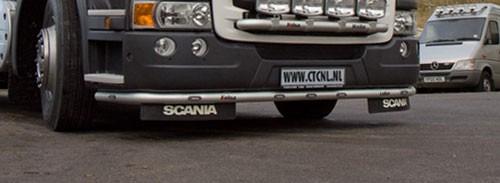 R Serie Type 2 Lobar Met Witte Led's Aluminium (hoge bumper)