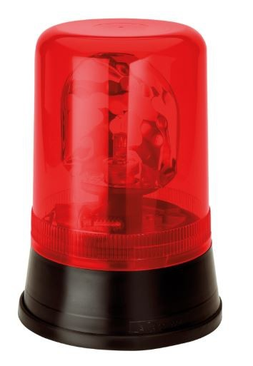 AEB zwaailicht 595 24V - rood lampglas