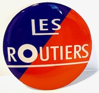 3D Naafsticker Les Routiers