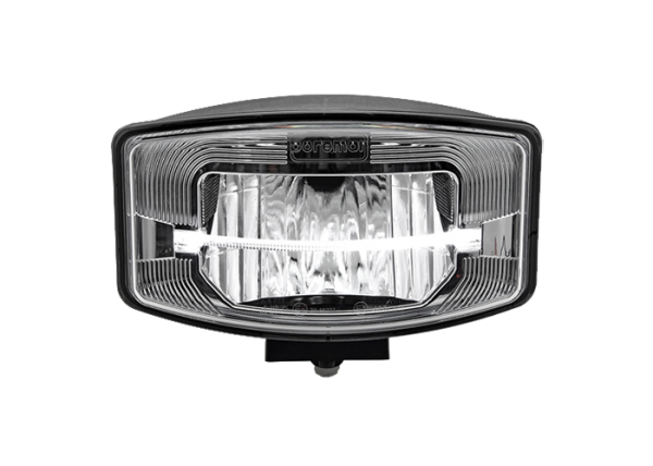 Rectangular / Oval FULL LED reflector smoke verstraler