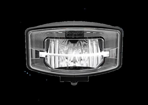 Rechthoekig/ovale FULL LED verstraler smoke reflector