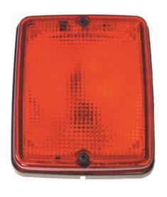 Hella lens rood voor bloklicht
