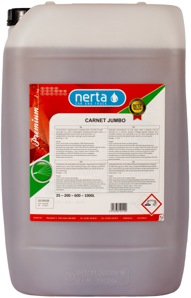 Nerta Carnet Jumbo shampoo - 25L