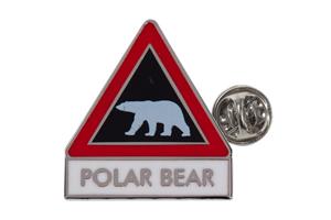 pin polar bear