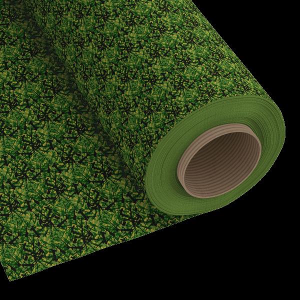 150x120cm Deense pluche groen einde rol