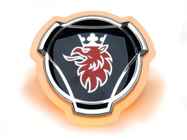 Scania LED embleem - Oranje