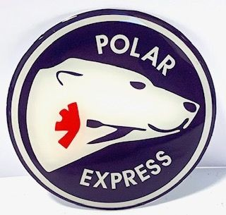 3D Naafsticker Polar Express