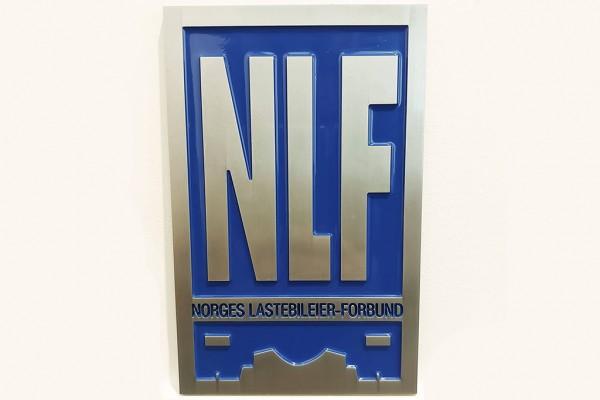 Retro NLF Bordje - Exclusief!