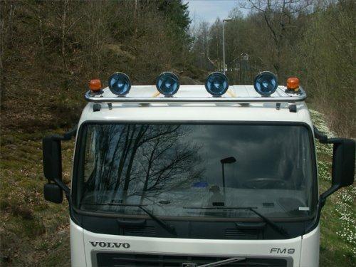 METEC Daklampenbeugel Volvo FH laag dak