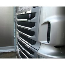 RVS Grille Applicatie SCANIA R Serie Type 2