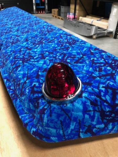 USA Melonlight met glazen lens en bollamp