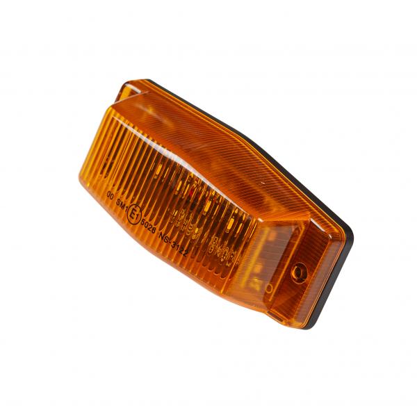 Full LED dubbelbrander 24V - Oranje