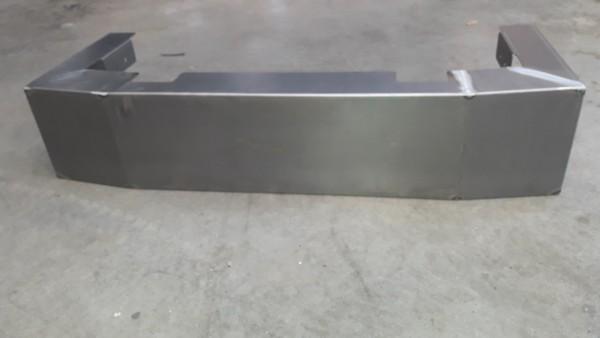 Valse kist (staal) voor scania R / next gen met batterijen achteraan zonder kenteken voorziening