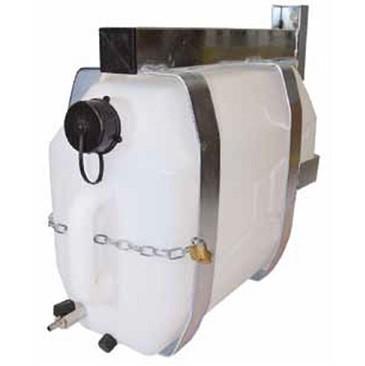 Watertank 25 ltr. + Montagebeugel Galva