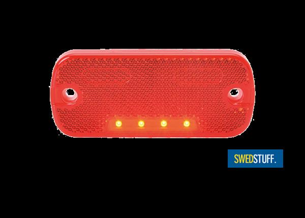 Red LED side marker / tail light
