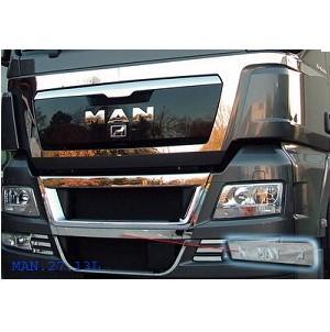 Front + deurapplicatie MAN TGX voor originele chrome parts