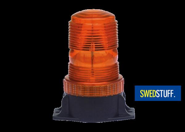 LED flashing light orange two point mounting