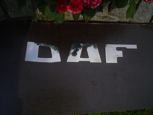 DAF letters rvs