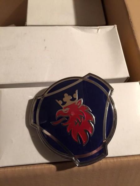 scania logo blauw