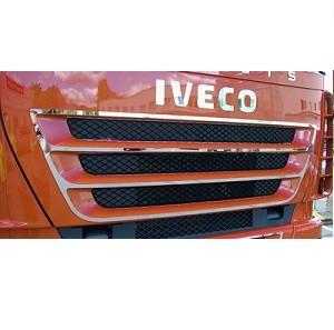 RVS applicatie voor bovengrille Iveco stralis cube