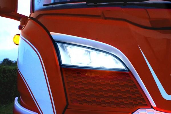 LED positielicht + Strobe tbv grill verstraler Scania R/S NextGen