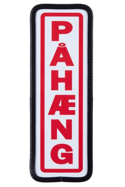 Pahaeng shield with mounting red