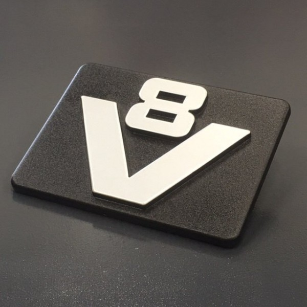 Oldskool V8 logo (origineel Scania)