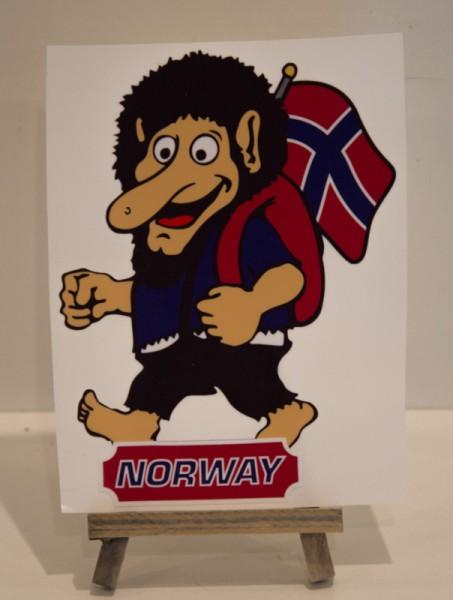 Sticker Troll Norway