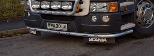 R Serie Type 2 Lobar Met Oranje Led's Aluminium (hoge bumper)