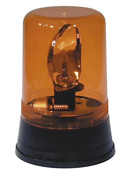 Aeb zwaailicht 595 24v - oranje lampglas