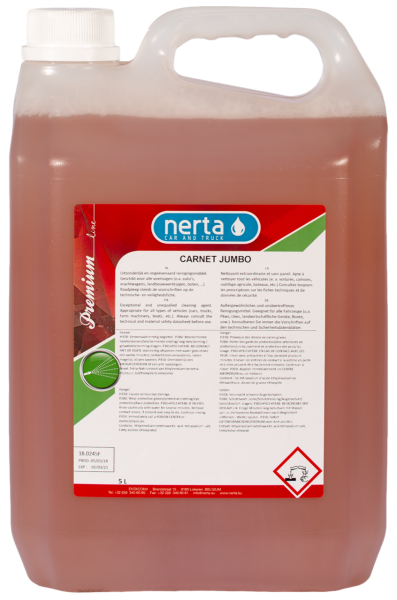 Nerta Carnet jumbo shampoo - 5L