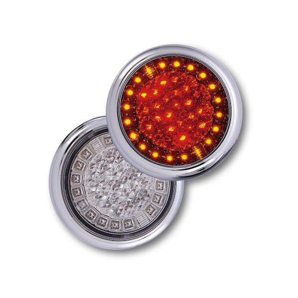 3-chamber LED taillight 12-24V