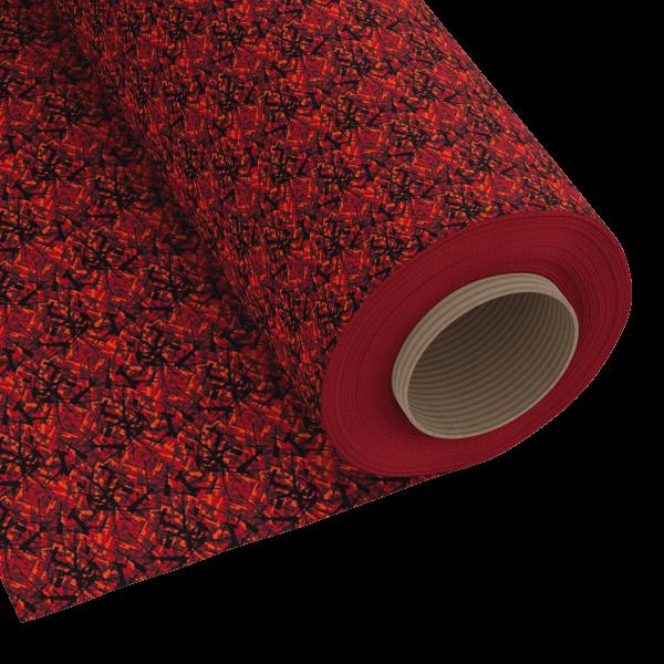 Deense stof rood