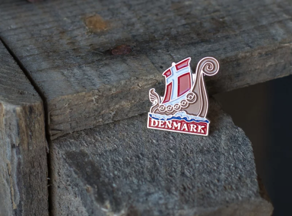 Pin Vikingsship Danmark