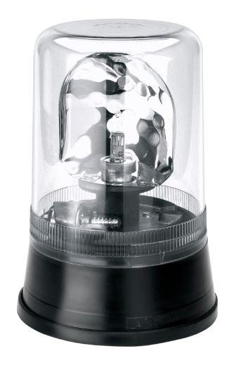 AEB zwaailicht 595 24V - Helder lampglas